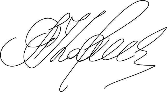 Образец подписи