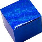 Синяя коробка для чашки