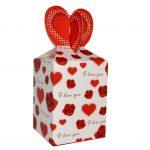 Коробка с сердечками для кружки